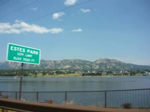 Estes Park City Limit